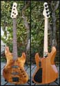 Auxan Warmoth Jbass Little Koa